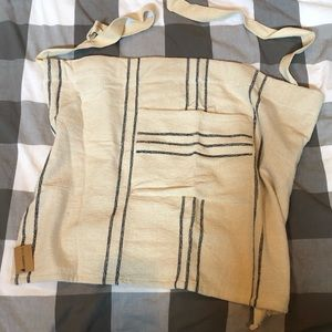 Farmhouse half apron new with tags